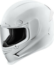 Icon Airframe Pro Full Face Motorcycle Helmet - White