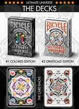 CARTE DA GIOCO BICYCLE ULTIMATE UNIVERSE,poker size
