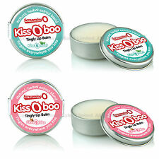 Screaming O KissOBoo Tingly Oral Lip Balm Cinnamon or Mint Flavour
