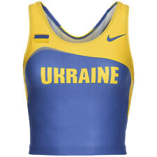 Ucrania Nike Atletismo SUJETADOR Crop Top Fitness Chándal & Field 203640-460