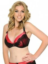 New Curvy Kate Lingerie Tempt Me Plunge Bra 4001 Black Scarlet VARIOUS SIZES