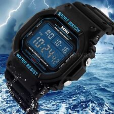 SKMEI Orologio da polso uomo digitale LCD Watch impermeabile waterproof sport
