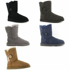 Ugg Australia Australia Bailey Button Sheepskin Womens Boots