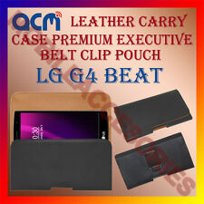 ACM-BELT CASE for LG G4 BEAT MOBILE LEATHER POUCH COVER HOLDER HOLSTER PROTECT