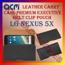 ACM-BELT CASE for LG NEXUS 5X MOBILE LEATHER POUCH COVER HOLDER HOLSTER PROTECT