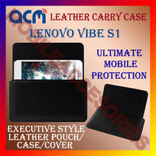ACM-HORIZONTAL LEATHER CARRY CASE for LENOVO VIBE S1 MOBILE COVER POUCH HOLDER