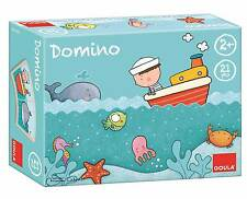 Goula Oscar At Sea Wooden Dominoes - Brand New Children's Game