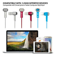 Earphone Handsfree Headset In-ear Headphone without mic 3.5mm Universal jack