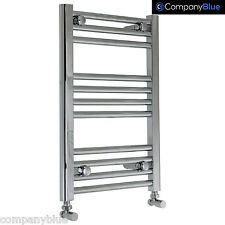 450mm Wide 600mm High Designer Chrome Heated Towel Rail Radiator Bathroom Rad
