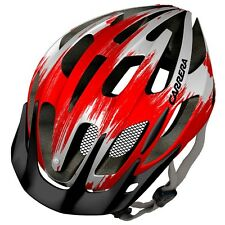 CARRERA Shake Commuter Mountain Bike MTB Cycle Helmet RED / WHITE Medium 54-57cm