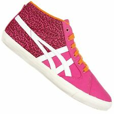 ASICS ONITSUKA TIGER FARSIDE MID TOP SNEAKER SCHUHE MEXICO 66 LEOPARD PINK NEON