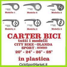 "Carter Copricatena in plastica per bicicletta City Bike / Olanda 20"" 24"" 26"" 28"""