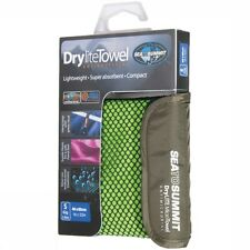Sea To Summit STSADRYA Drylite Antibacterial Quick Dry Camping Towel - Lime
