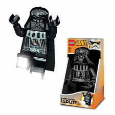 Lego Star Wars LED Lite Torch Darth Vader Poseable Mini Figure Flash Light Lamp