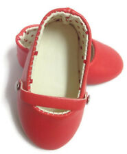 Red Flats Shoes made for 18 inch American Girl Doll Clothes