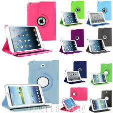 Folio Leather Stand Protective PU Pouch Cover Case for Apple iPad Tablet Tab