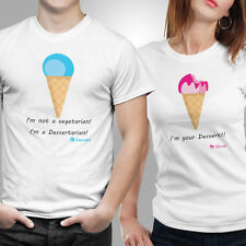 Couple Tshirts- I'm Your Dessert (by iberrys)