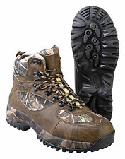 PROLOGIC MAX5 GRIP-TREK FULLGRAIN NUBUCK BOOTS REALTREE CAMO CARP FISHING 8-12