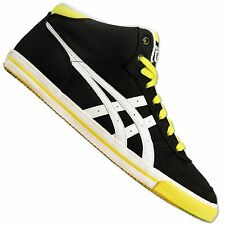 ASICS ONITSUKA TIGER AARON MID TOP SNEAKER SCHUHE MEXICO 66 SCHWARZ WEISS GELB