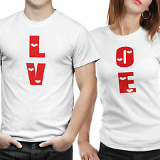 iberrys-Couple Tshirts DryFit Polyester- Love