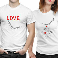 Couple Tshirts- Love Distance (by iberrys)