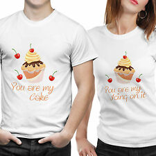 Couple Tshirts- Cake (by iberrys)