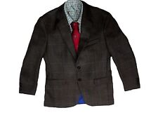 Brun Quality Traditionnel Tweed Chasse Suit 100% Laine Veste Gilet Breeks