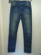 MENS CHEAP MONDAY SKINNY JEANS BLUE STONEWASHED RRP £55