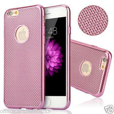 ELECTROPLATING GRID SOFT SILICONE BACK CASE COVER FOR APPLE iPHONE 6 PLUS 5.5""