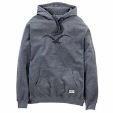 Cleptomanicx Herren Hoodie Mowe - Heather Dark Gray