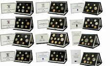ROYAL MINT PROOF SETS BLUE DELULXE 1983 TO 1999 BIRTHDAY PRESENT COIN YEAR SETS