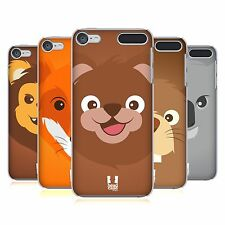 HEAD CASE DESIGNS CARTOON ANIMAL FACES SERIES 2 CASE FOR APPLE iPOD TOUCH MP3