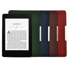 Smart Sottile Rivestimento In Pelle Custodia Per Amazon Kindle Paperwhite Sleep/