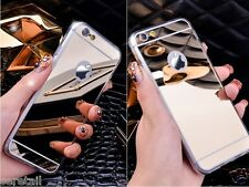 LUXURY MIRROR LOOK ELECTROPLATE BACK CASE COVER For Apple iPhone 4/4s 5/5S 6/6S