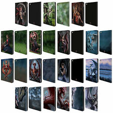 OFFICIAL ANNE STOKES DRAGON FRIENDSHIP LEATHER BOOK WALLET CASE FOR APPLE iPAD