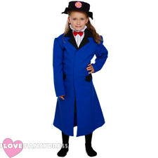 GIRLS MAGICAL NANNY FANCY DRESS COSTUME SCHOOL BOOK WEEK CHARACTER VICTORIAN