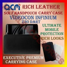 ACM-RICH LEATHER SOFT CASE for VIDEOCON INFINIUM Z30 DART MOBILE HANDPOUCH COVER
