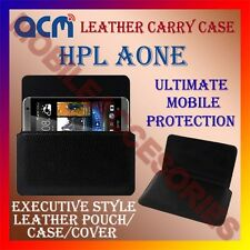 ACM-HORIZONTAL LEATHER CARRY CASE for HPL AONE MOBILE COVER HOLDER PROTECTION