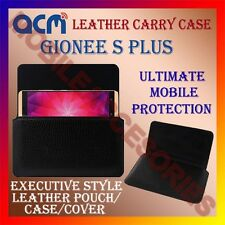 ACM-HORIZONTAL LEATHER CARRY CASE for GIONEE S PLUS MOBILE COVER POUCH HOLDER