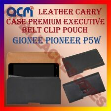 ACM-BELT CASE for GIONEE PIONEER P5W MOBILE LEATHER HOLSTER POUCH COVER HOLDER