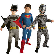 Rubies Childs Dawn Of Justice Classic Superman Or Armoured Batman Kids Costume