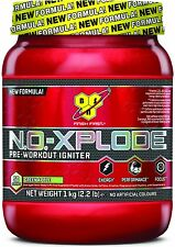 BSN NO Xplode 3.0 New Formula Pre-Workout Igniter 1kg 50 Servings All Flavours