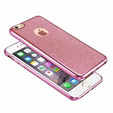 BLING GLITTER SHOCKPROOF GEL CASE COVER  FOR APPLE IPHONE 6 6S