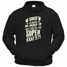 getshirts - RAHMENLOS® Geschenke - Hoodie - Superkraefte Direct-Marketing-Mana..