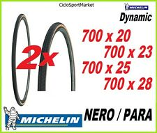 2 x Copertoni MICHELIN 700 x 20 - 700 x 23 - 700 x 25 - 700 x 28 + 2 x CAMERA