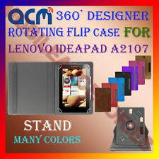 "ACM-DESIGNER ROTATING 360° 7"" COVER CASE STAND for LENOVO IDEAPAD A2107 TABLET"