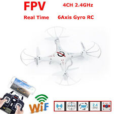 Profession FPV Drone RC  K5C Quadcopter 2.4G 6-Axis RC Helicopter w/ HD Camera