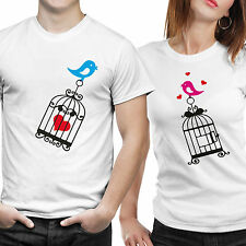Couple Tshirts DryFit Polyester- Love Birds (by iberrys)