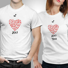 iberrys-Couple Tshirts DryFit Polyester- Love Name