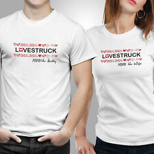 iberrys-Couple Tshirts DryFit Polyester Love Struck
